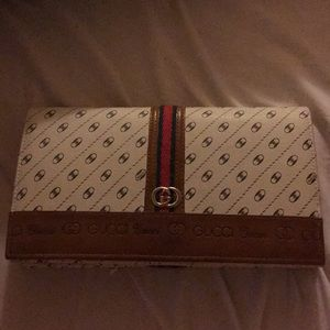 Vintage Rare Gucci Clutch Anniversary Collection